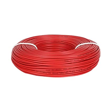 Great White 1 Sqmm Wire 90mtr (Red): Amazon.in: Home & Kitchen