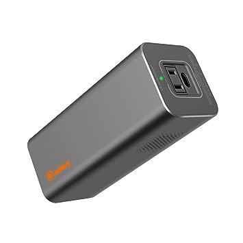 Amazon.com: Cargador portátil AC PowerBar 23200mAh 85W (100 ...