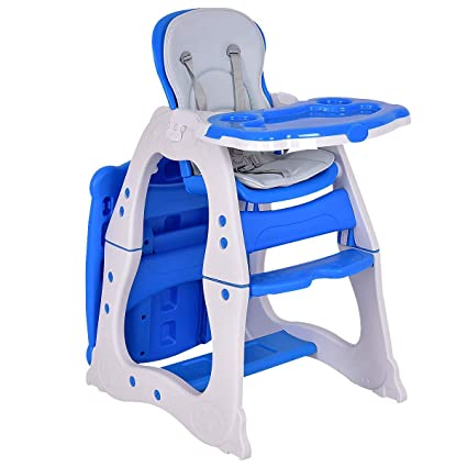 Amazon.com: ASdf Baby Doll Furniture 3 in 1 Baby High Chair ...