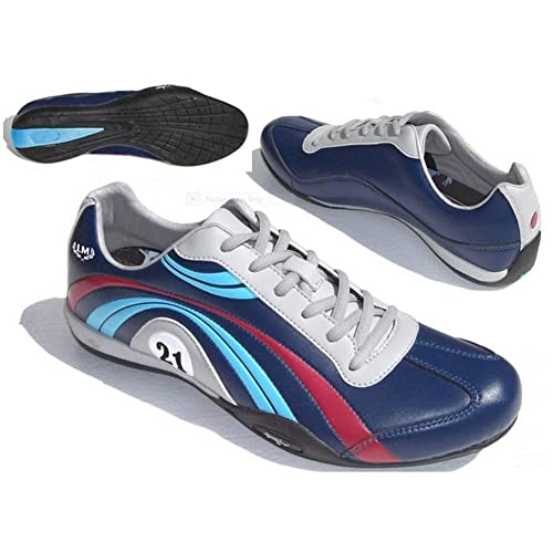 c0a6358f2243 Vic Elford Le Mans ACO Martini Racing Leather Driving Shoes by Nicolas  Hunziker UK 6.5