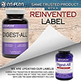 MRM - Digest-All, Alleviates Occasional Gas & Bloating, Supports Nutrient Absorption, Enzymes That Support Optimal Digestion (100 Vegetarian Capsules)