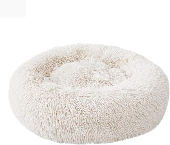 6 tamaños, cama redonda para gatos, cama para gatos, estera para gatos, cálida, nido para gatos, cesta suave para perros, cojín para mascotas, suministros portátiles para mascotas-B_Diameter_100cm