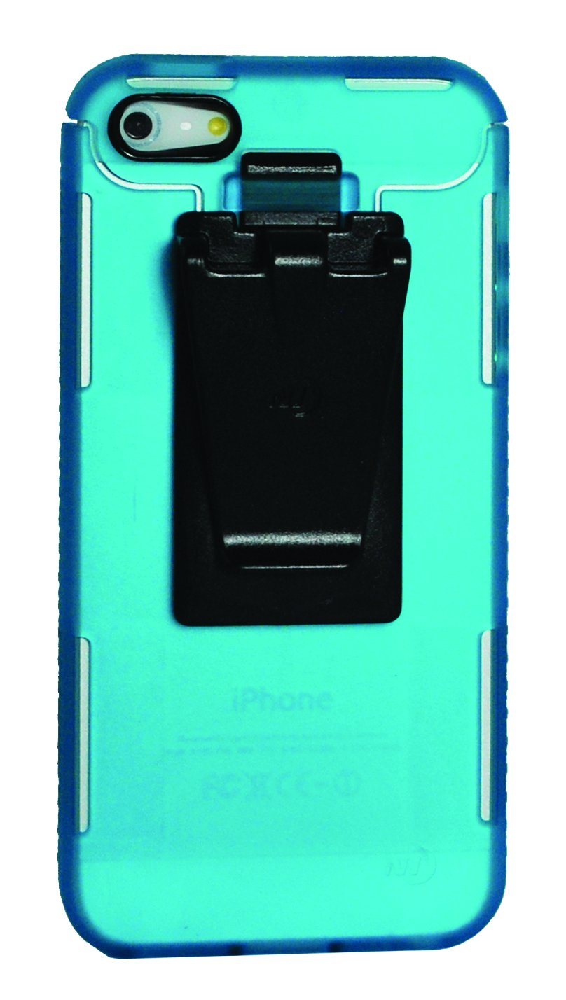 Nite Ize CNT-IP5-69TC Connect Case for iPhone 5-1 Pack - Retail Packaging - Translucent Turquoise