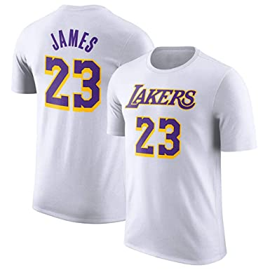 Camiseta NBA Lakers Lebron Raymone James Urban Manga Corta