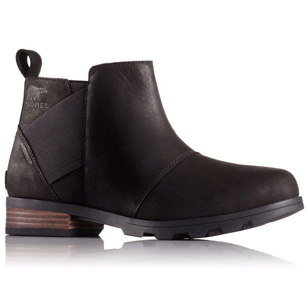 SOREL Women's Emelie Chelsea Non Shell Boot, Size: 9.5 B(M) US, Color Black/Black by SOREL (Image #1)