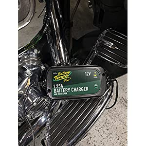 Battery Tender 022-0185G-dl-wh Black 12 Volt 1.25 Amp Plus Battery Charger/Maintainer