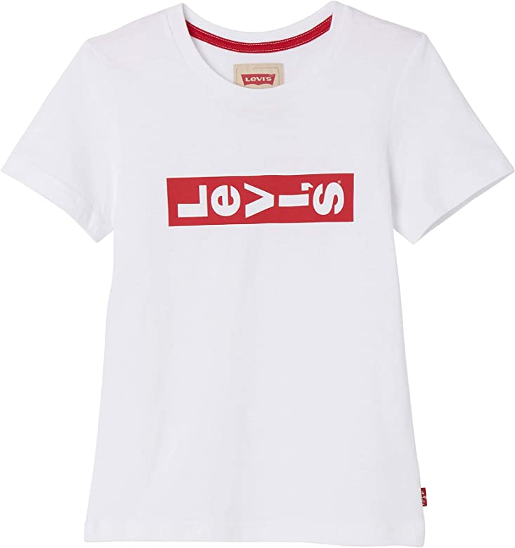 Levis kids Nn10227 Short Sleeve tee-Shirt Camiseta, Marfil (Écru 11), 4 años (Talla del Fabricante: 4Y) para Niños: Amazon.es: Ropa y accesorios