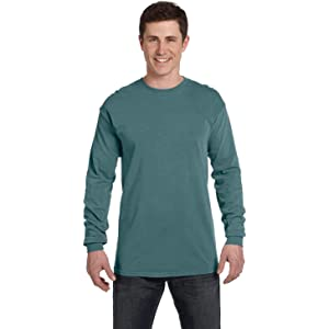 ee42e0b9 Comfort Colors Ringspun Garment-Dyed Long-Sleeve T-Shirt, Small ...