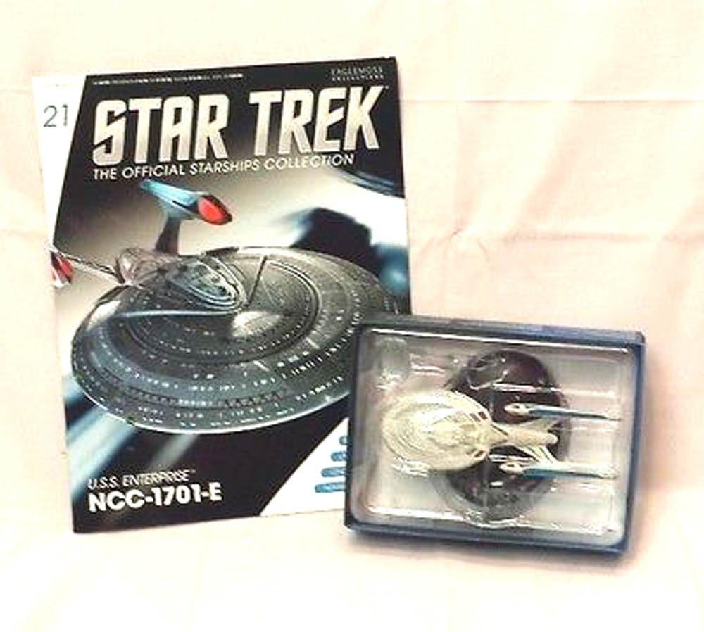 Amazon.com: Star Trek Starships Figurine Collection Magazine #21 U.s.s  Enterprise-e: Toys & Games