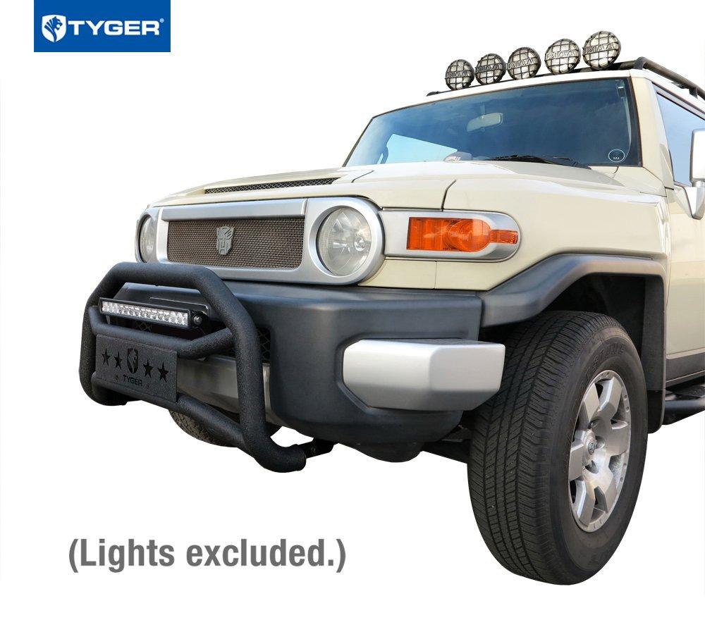 Amazon.com: Tyger Auto TG-GD6T60078 Front Bumper Guard Fits 2007-2014  Toyota Fj Cruiser | Textured Black | Light Mount | Bull Bar: Automotive