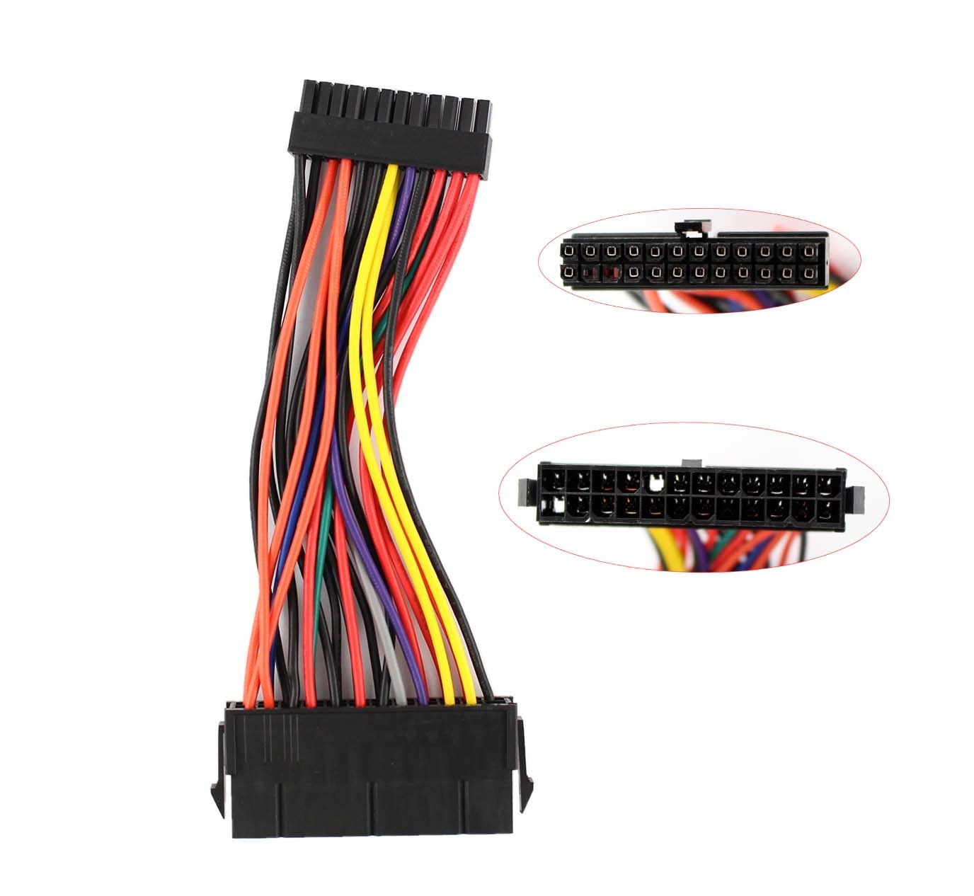 Xtremeamazing New For Dell Optiplex 760 780 960 980 Sff 24 Pin Power Supply Wiring Diagram Atx To Mini Cable Computers Accessories