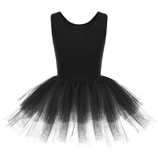 bd8c833c0563 Amazon.com  CHICTRY Girls  Organic Cotton Tank Tutu Dance Ballet ...