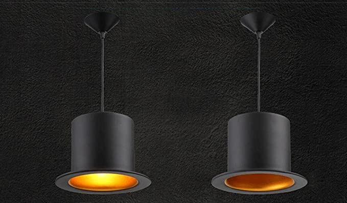 Claiya industrial bar pentola coperchio guandeng lampadario balcone