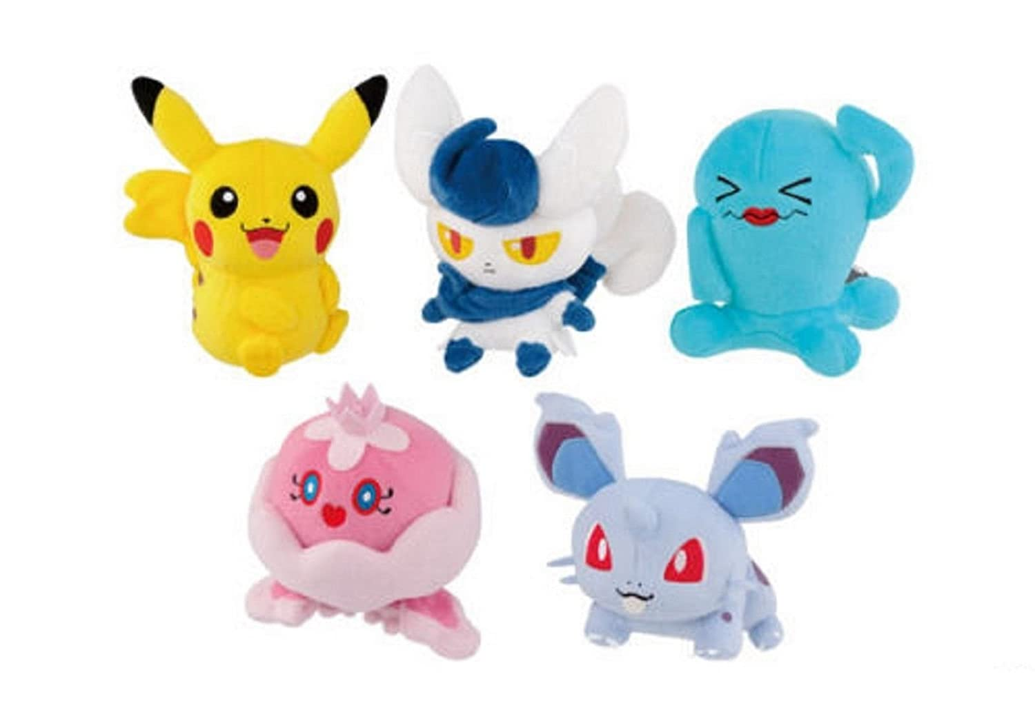 Amazon.com: Pokemon XY Male-Female Plush Doll 49276- 6