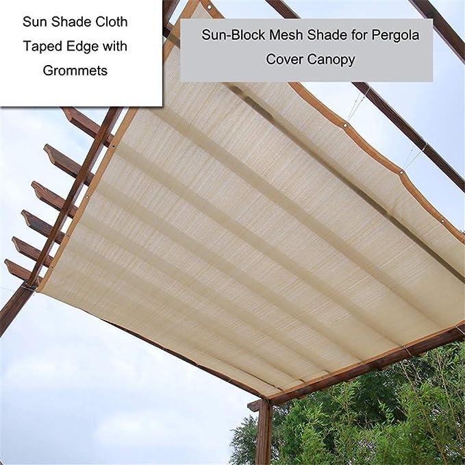 Flowing water Sun-Block Mesh 90% Anti-UV Cubierta de pérgola ...
