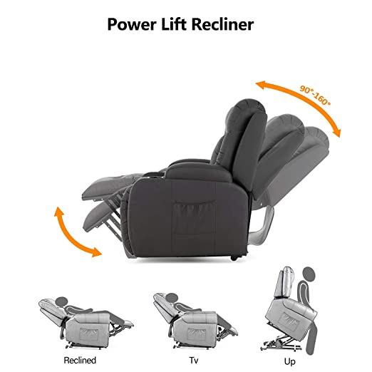 Amazon.com: Mecor Power Lift sillones reclinables para ...