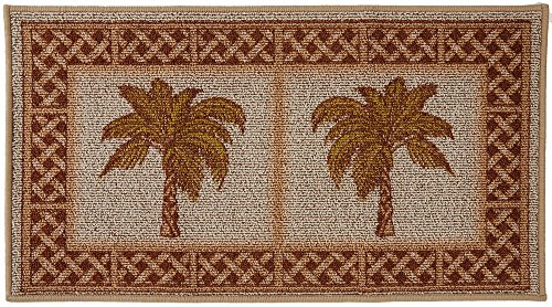 Bacova Rattan Double Palm Berber Loop Rug One Size -
