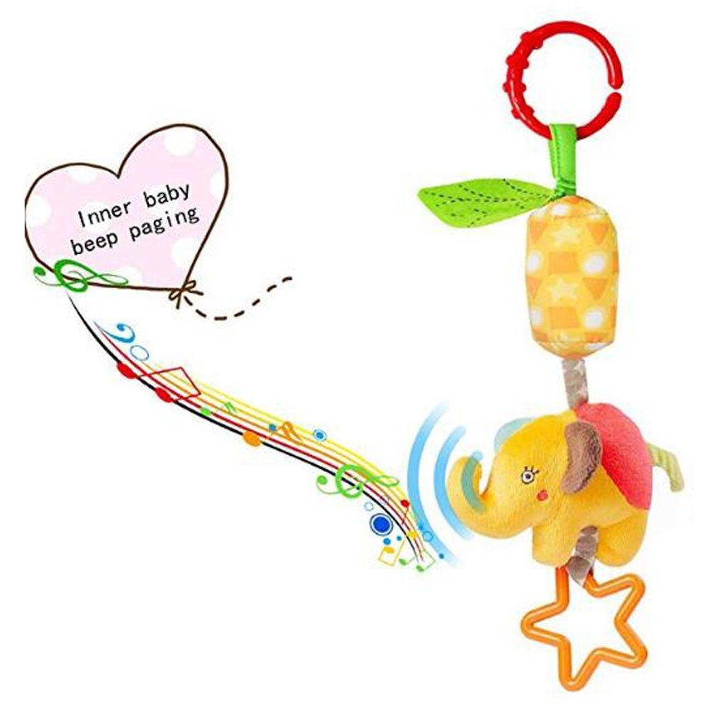 Juguetes para Bebés, Cochecito De Tela Suave Colgante Alrededor De La Cabecera De La Cama Recién Nacido 01 Bebé Juguete BB (4Pcs): Amazon.es: Deportes y ...