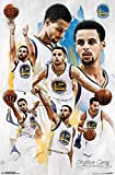 Trends International Golden State Warriors Stephen Curry Champ Wall Poster 22.375' x 34'