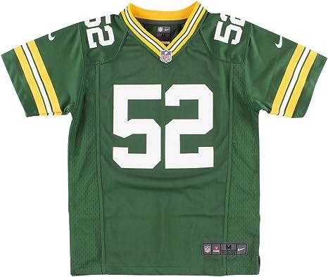 Green Bay Packers Nike Youth Game Jersey – Verde – Mediano, 52 – Arcilla Matthews III