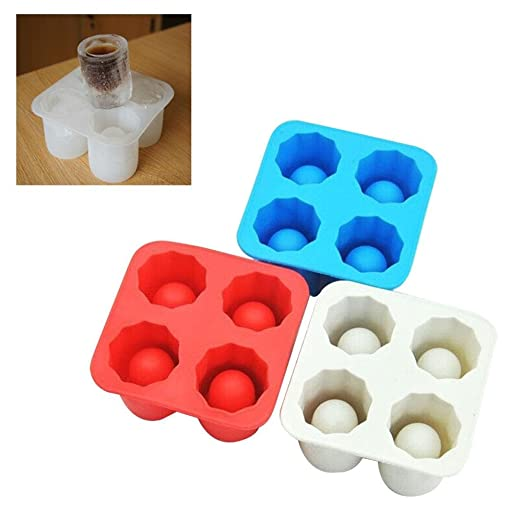 Leegoal - 1 molde para cubitos de hielo, bandeja para congelador ...