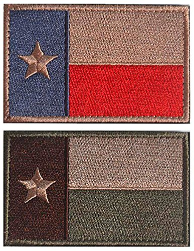WZT Texas State Flag Patch Morale Patch-Tactical Morale 4337019040