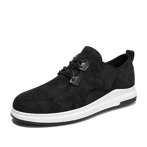 Casuales De Hombres Cuero Zapatos Zapatillas Deporte Para 2EHWDIYe9