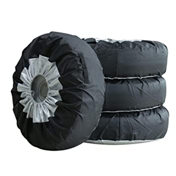 demiawaking Pack de 4 bolsas de neumático de coche rueda neumático Covers Protector cubre para Univeral coche Van SUV: Amazon.es: Coche y moto