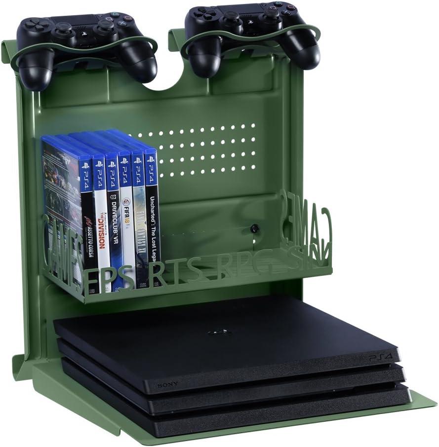 GameSide COD WWII - Soporte de pared horizontal con ventilador ...