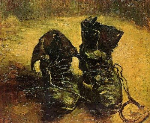 (Vincent Van Gogh A Pair of Shoes 86x72 [Kitchen])