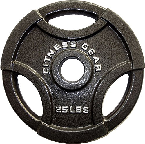 Fitness Gear 25 lb Olympic Cast Plate by Fitness Gear