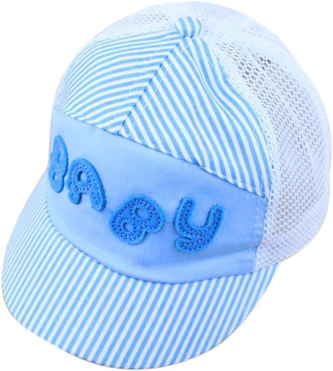 Vi.yo Sombrero de Dibujos Animados de los ni/ños de Verano Gorras de Malla Beb/é Ni/ños Gorra de b/éisbol de la Visera de Moda Snapback Sombreros Ni/ños ni/ñas Gorra Ajustable