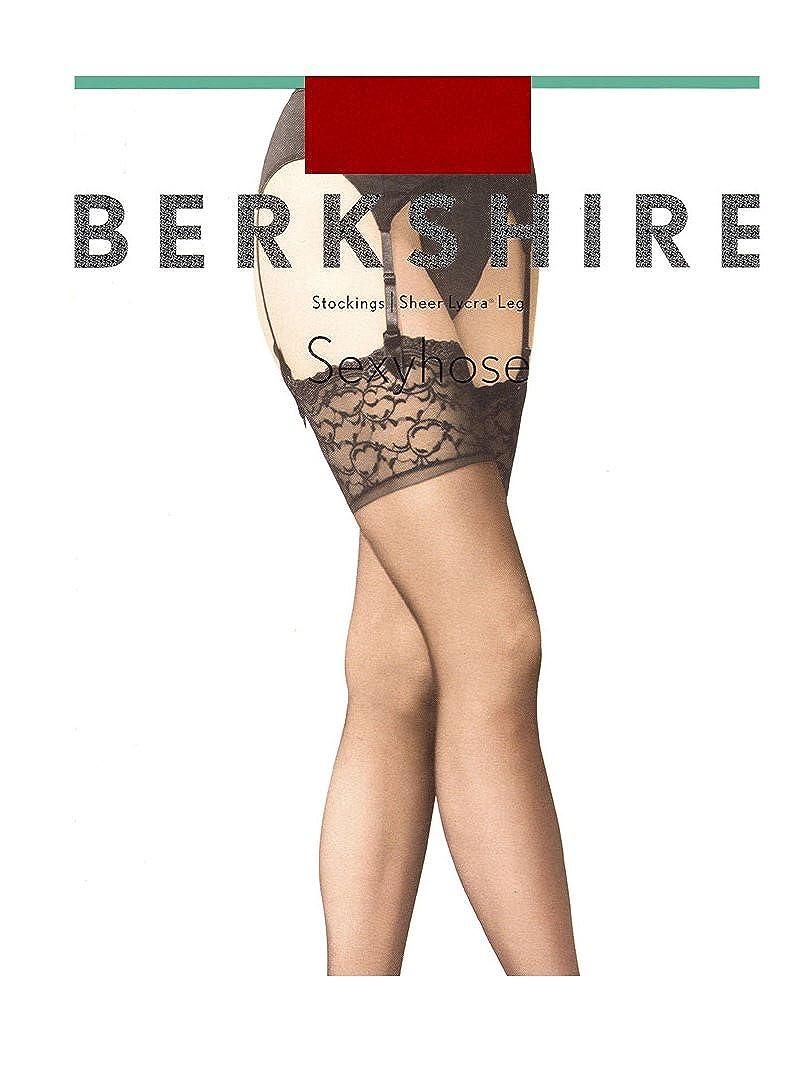 Berkshire Women's Plus-Size Queen Silky Sheer Sexyhose Stockings 1361 Berkshire Women's Hosiery