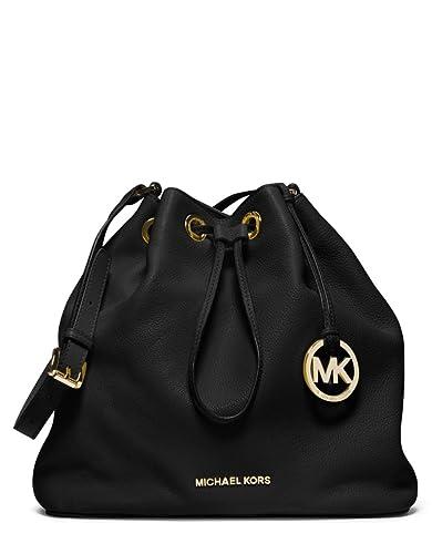 dd9f9de107c2 Michael Michael Kors Large Jules Drawstring Shoulder Bag (Black ...