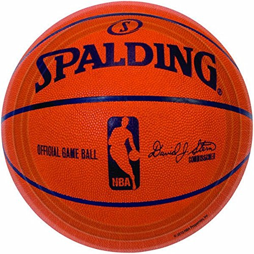 Sports and Tailgating NBA Party Spalding Basketball Round