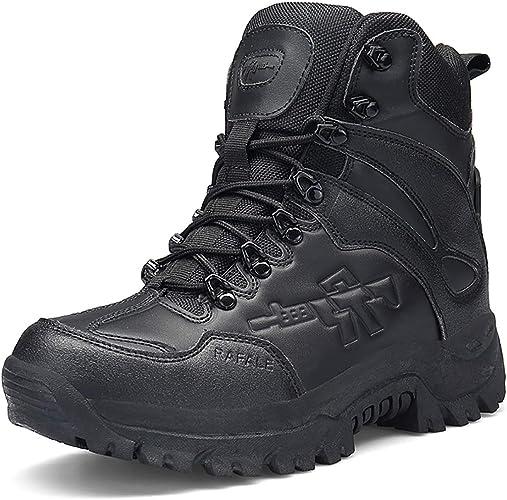 Stiefel Herren Wanderschuhe Damen Trekkingschuhe Armee Combat Tactical Boots Verschleißfest rutschfeste Outdoor Einsatzstiefel Für Maenner Frauen
