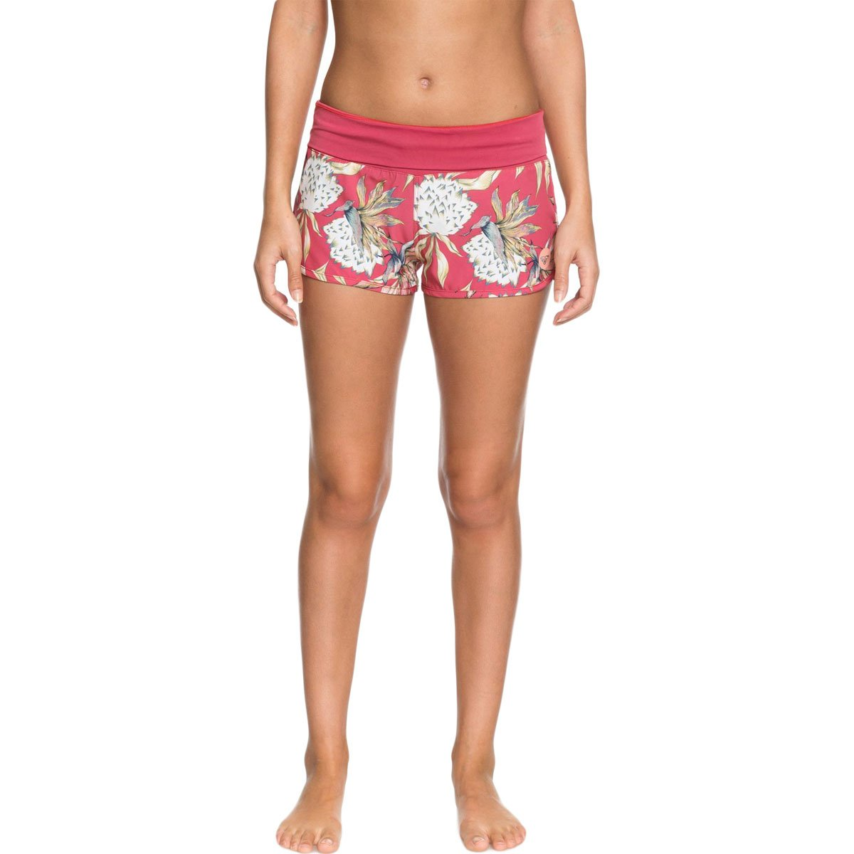 Roxy Women's Endless Summer Printed Boardshort, Holly Berry Swim House of The, S