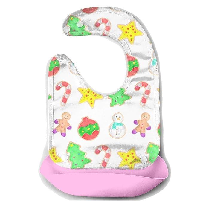 Amazon Com Christmas Cookies Baby Bibs Waterproof For Babies And