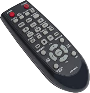 AH59-02546B AH5902546B Replace Soundbar Remote Control fit for Samsung Sound Bar Home Theater Speaker System HW-F551 HW-F550 HW-FM55C HW-F550/ZA HW-F551/ZA HW-FM55C/ZA