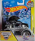 HOT WHEELS 2014 SPECIAL HOLIDAY EDITION MOHAWK WARRIOR MONSTER JAM MONSTER TRUCK 1:64 SCALE DIE-CAST