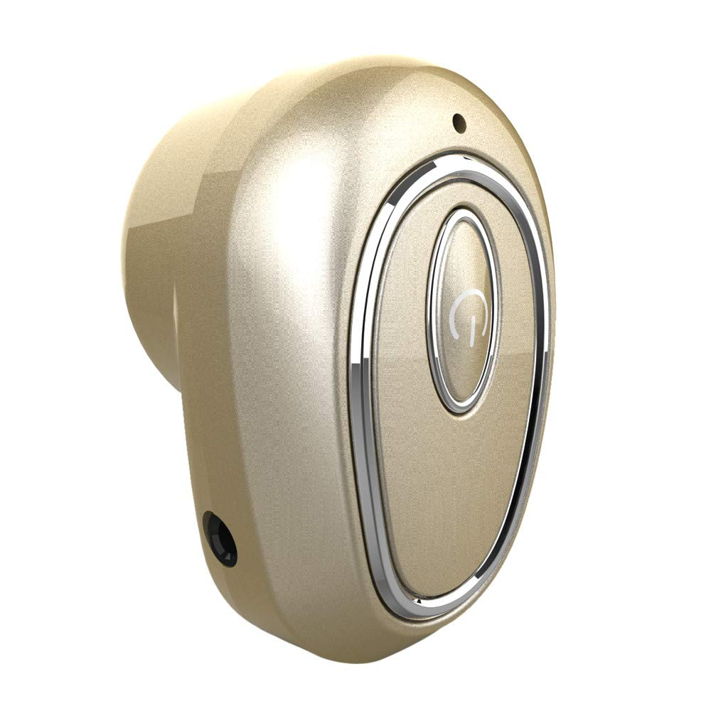 Mini Wireless Blueteeth Headphone Stereo Earbud Headset Earphone Mini Wireless Bluetooth Headphone Stereo Earbud Headset Earphone Compatible iPhone YRD TECH Wireless BT Earphone