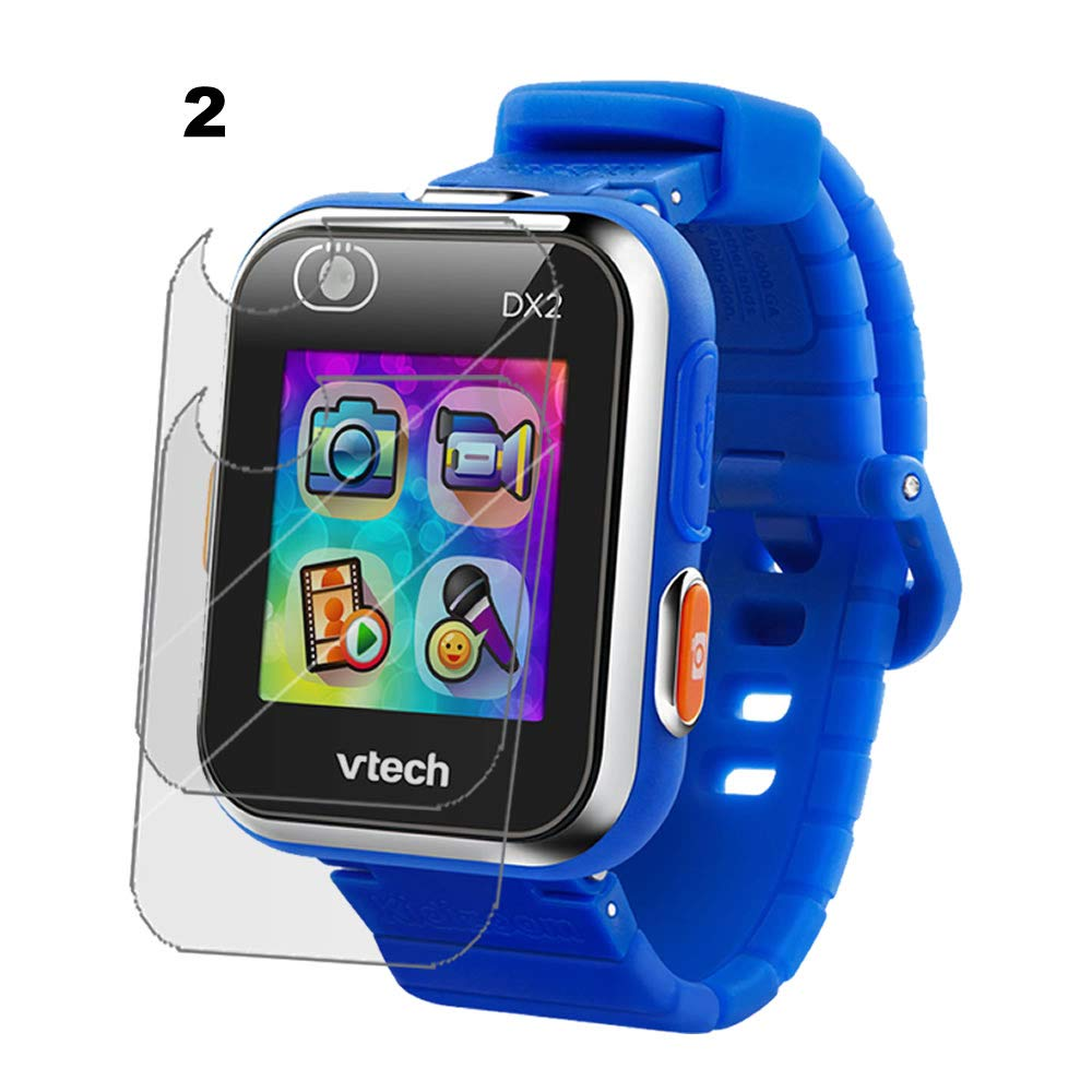 IPG for VTech Kidizoom Smartwatch DX2 Watch Screen Protector (2 Units) Invisible Ultra HD Clear Film Anti Scratch Skin Guard - ...