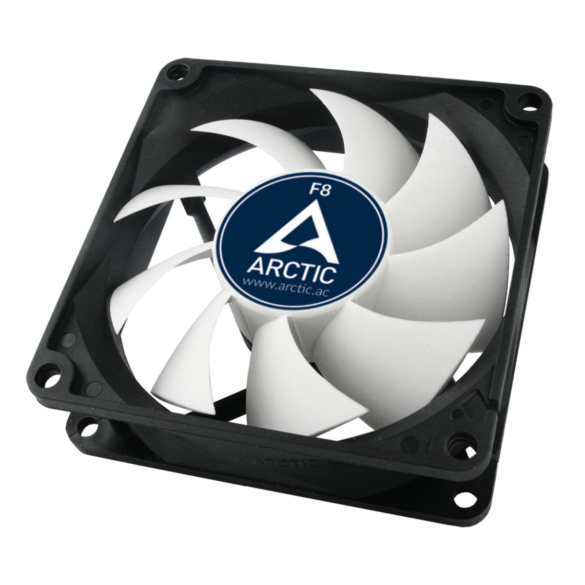 Silent Cooler with Standard Case I Almost inaudible Ultra-Quiet 80 mm Case Fan ARCTIC F8 Silent Push- or Pull Configuration Possible