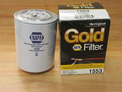 Amazon com: Napa Gold Hydraulic Filter 1553: Automotive