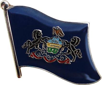 Lapel Pin Enamel Pin Hat Pin Pennsylvania Pin PA State Pin Pennsylvania Decor Backpack Pin