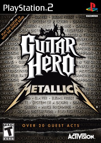 Guitar Hero Metallica - PlayStation 2