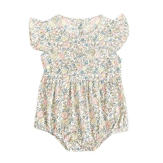 4b02c261060 Amazon.com  Baby Girl Romper Newborn