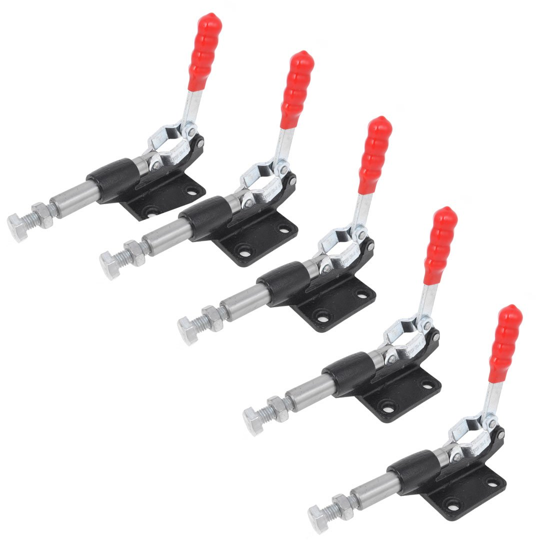Uxcell 304C U Shaped Bar Quickly Holding Push Pull Toggle Clamp 227Kg, 5-Piece