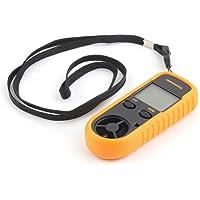 RGBS anemometer, windsterktemeter, windmeter, digitaal LCD-display, meet snelheid, thermometer met…