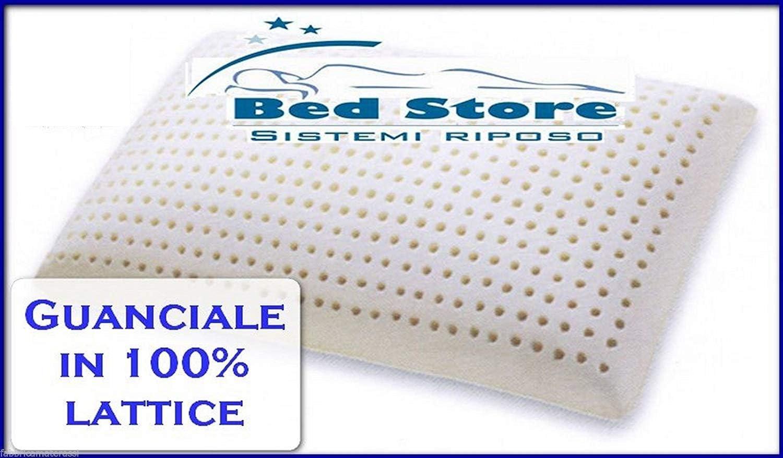 viglietti natural bedding GRANRIPOSO Classic saponetta Lattice 100% Cuscino/guanciale Alta QUALITA' Ex produttori per Sapsa (Saponetta H.15 cm)